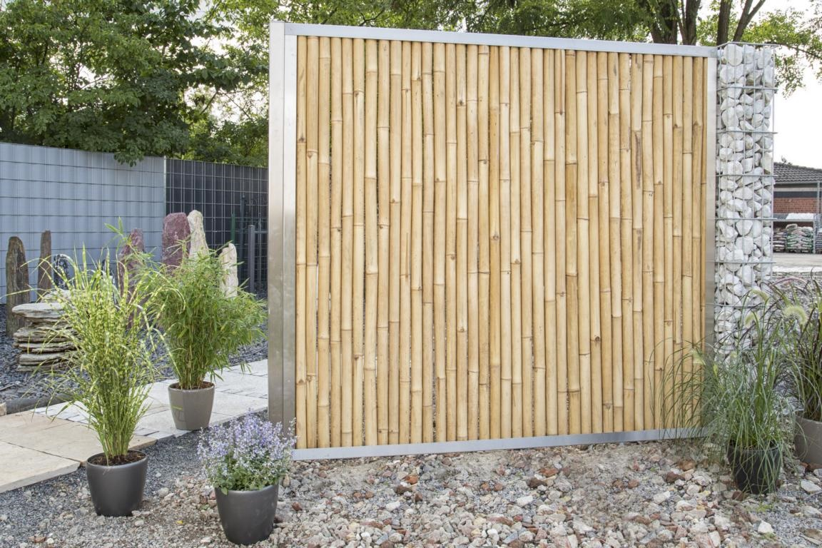 bambuszaun - weidenzaun - naturzaun - holzzaun