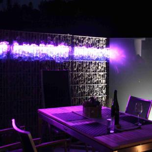 gabionenlicht led gabione leuchtgabionen beleuchtung. Black Bedroom Furniture Sets. Home Design Ideas